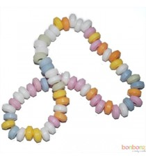 Colliers en bonbons - dextrose - 20 pièces