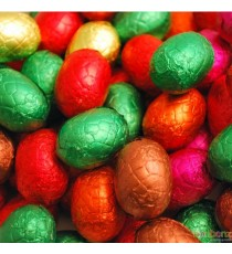 Oeufs chocolat mélangés - au chocolat belge