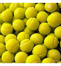 Chewing gum balle de tennis - 10 pièces - goût citron