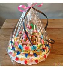 Sofia - gâteau de bonbons et guimauves - 15 à 20 personnes