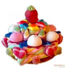 Gâteaux de bonbons - Pink Baby