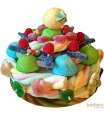 Gâteaux de bonbons - Cosmic Candy - montage de bonbons pour anniversaire