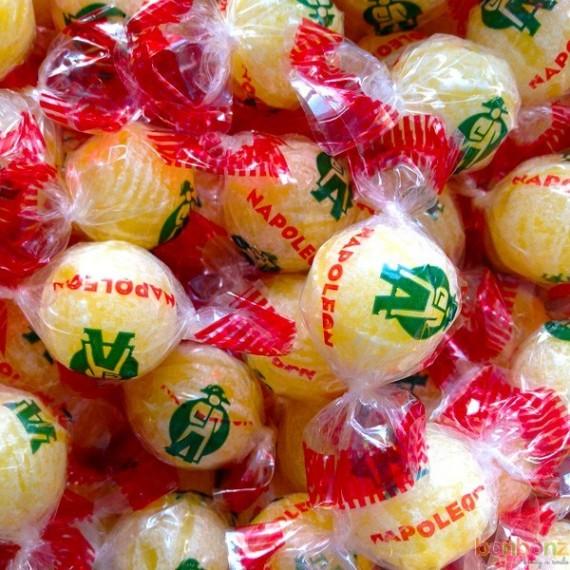 Bonbons Napoléon - confiserie citrique au citron