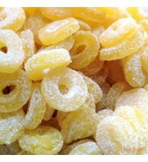 Ananas saupoudrés de sucre fin - bonbons Geldhof