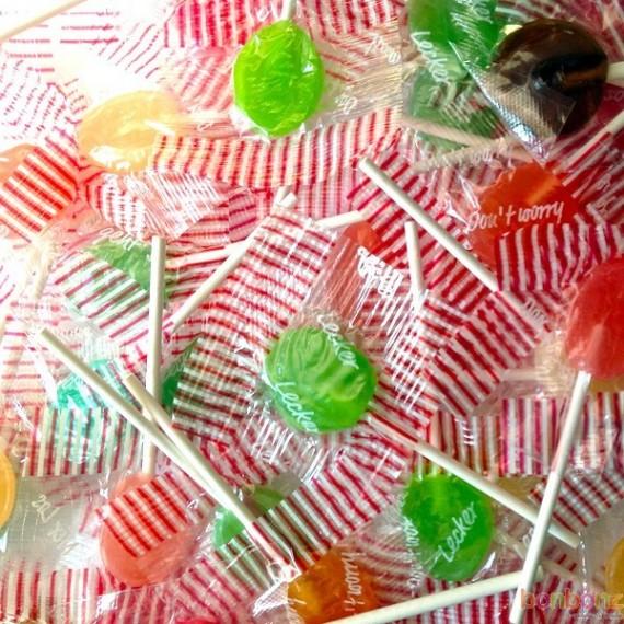 petites sucettes au fruit