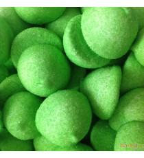 Guimauves vertes à la pomme - Bonbons Fini