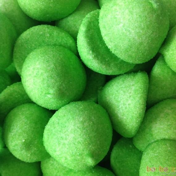 Guimauves pomme - balle de golf vertes - bonbons FINI