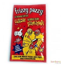 Frizzy Pazzy Fraise - le chewing gum qui claque !