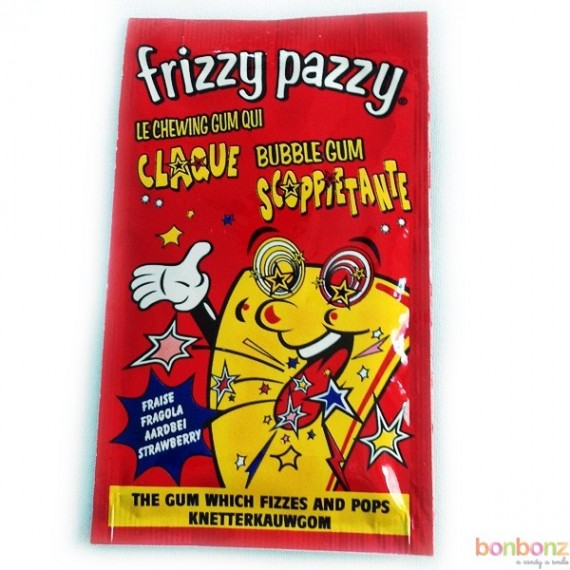 Frizzy Pazzy - le chewing gum qui claque !