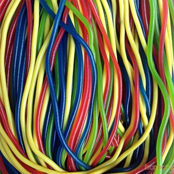 Lutti - lacet multicolores Rainbow - scoubidou