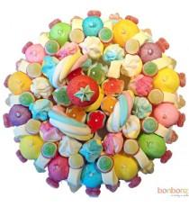 Gâteaux de bonbons - Carnaval, un montage de bonbons colorés